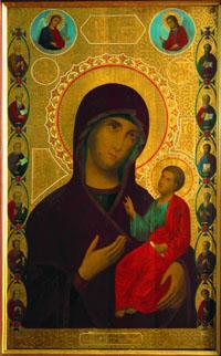 Иверская Валдайская икона